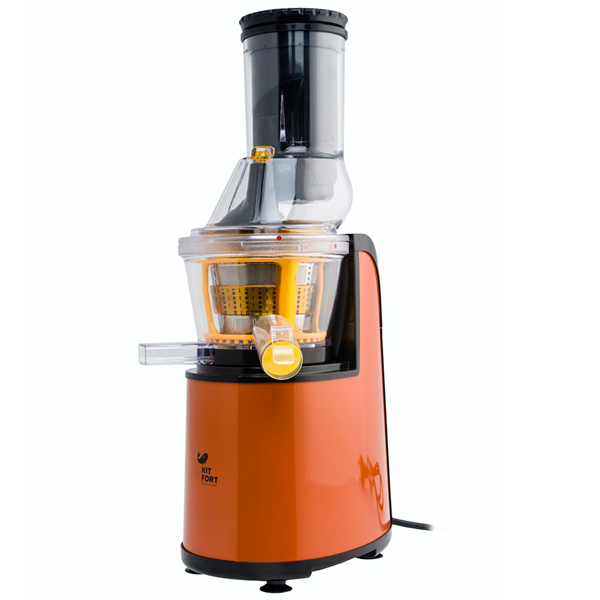 Соковыжималка шнековая Kitfort КТ-1102-1 соковыжималка kitfort кт 1102 1 150 вт пластик оранжевый