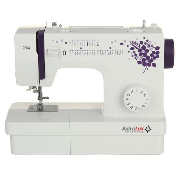 Швейная машина Astralux Astralux 226N набор лапок для швейных машин astralux 3 в 1 dp 0015