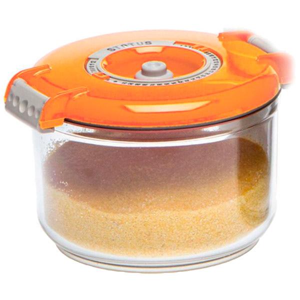 Контейнер для вакуумного упаковщика Status VAC-RD-075 Orange