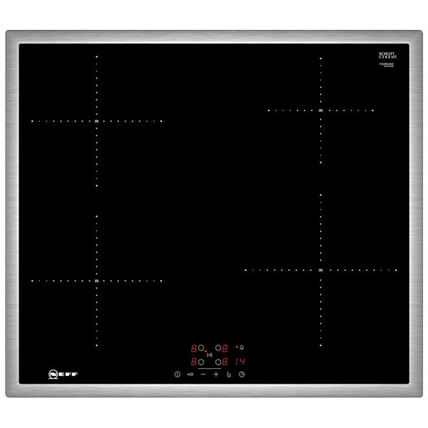 Встраиваемая индукционная панель Neff T36BB40N0 neff n17hh11n0 для подогрева посуды