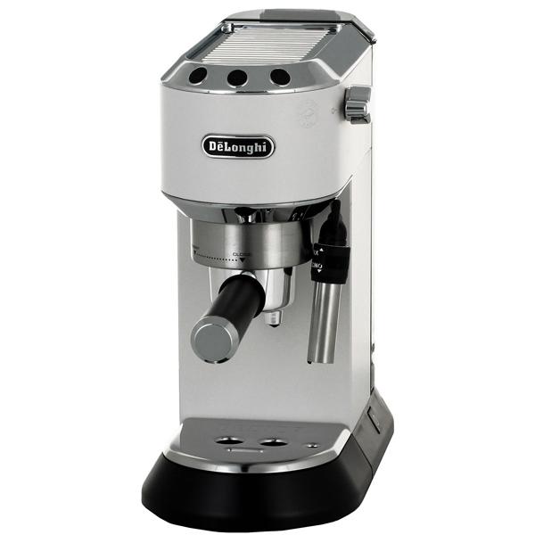 Кофеварка рожкового типа De Longhi EC685.W электрочайник de longhi kbi2000 bk