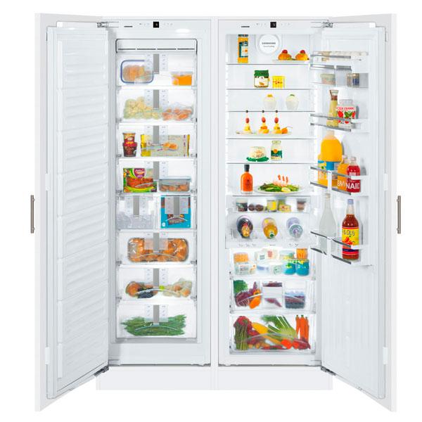 Встраиваемый холодильник side-by-side Liebherr SBS 70I4-22 беспроводная акустика interstep sbs 150 funnybunny blue is ls sbs150blu 000b201