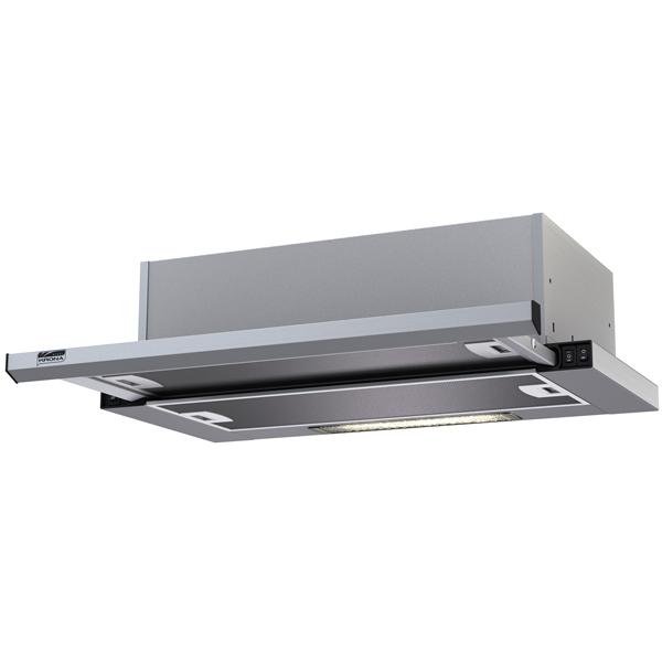 Вытяжка встраиваемая в шкаф 50 см Krona Kamilla slim 500 Inox/Inox вытяжка krona kamilla sensor 600 inox white glass