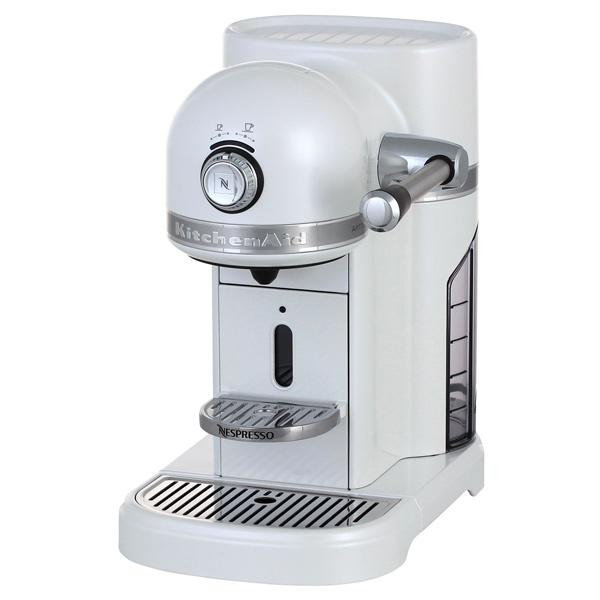 Кофемашина капсульного типа Nespresso KitchenAid Artisan 5KES0504EFP морозный жемчуг kitchenaid 5kmt2204 efp