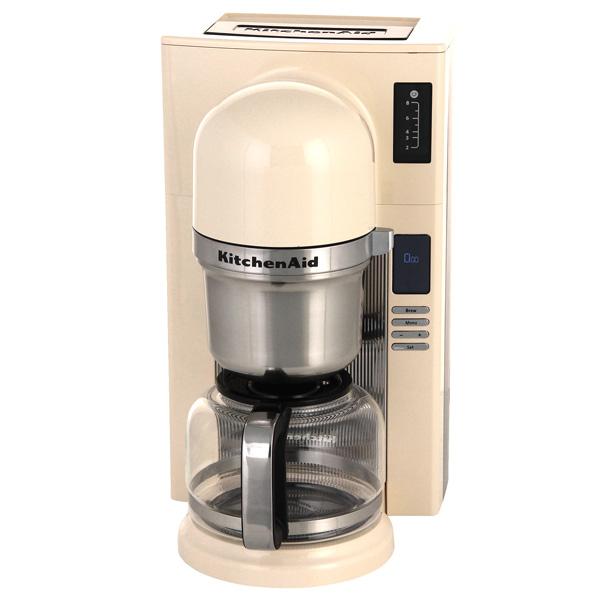 Кофеварка капельного типа KitchenAid 5KCM0802EAC кремовый kitchenaid чугунная квадратная сковорода с прессом 25х25 см кремовая