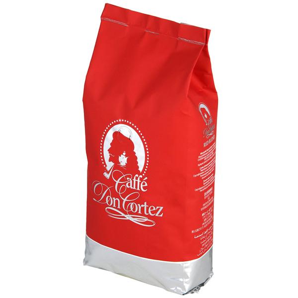 Кофе в зернах Don Cortez Red 1000 г кофе в зернах buscaglione euro bar 1кг