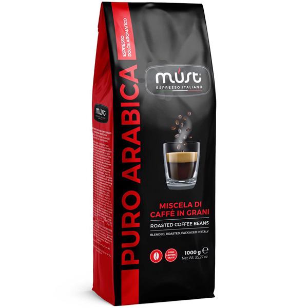Кофе в зернах Must Puro Arabica 1000 г