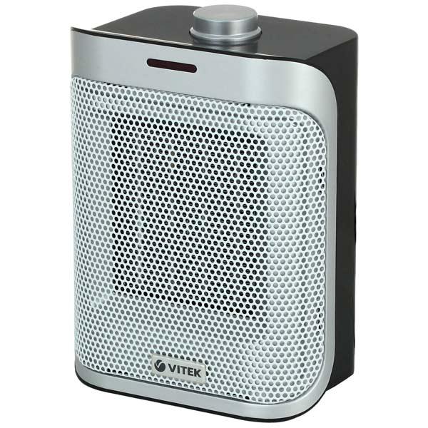 Тепловентилятор керамический VITEK VT-2051 BK кофеварка vitek vt 1502 bk черный