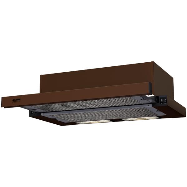 Вытяжка встраиваемая в шкаф 60 см Krona Kamilla 600 Brown (1 мотор) вытяжка 60 см krona monika 600 inox