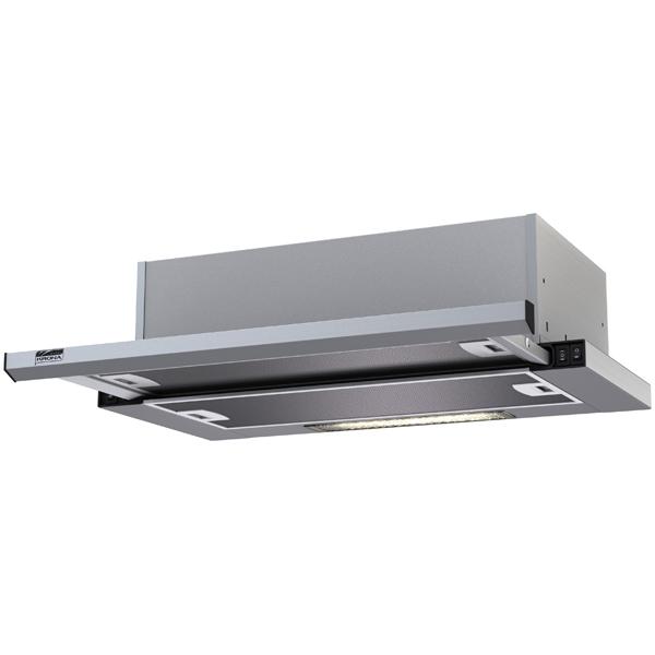 Вытяжка встраиваемая в шкаф 60 см Krona Kamilla slim 600 Inox/Inox (1 мотор) вытяжка krona kamilla sensor 600 inox white glass