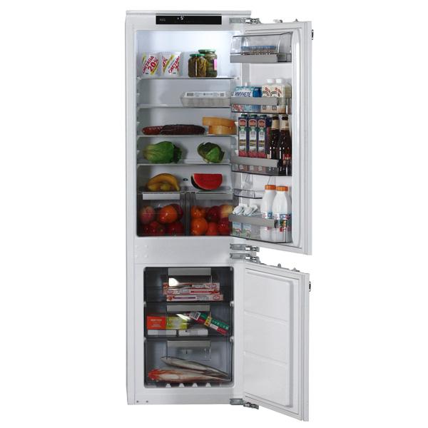 AEG, Встраиваемый холодильник комби, SCR81816NC