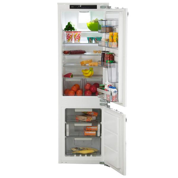 AEG, Встраиваемый холодильник комби, SCR81864TC