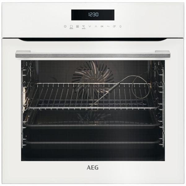 Электрический духовой шкаф AEG BCR742350W вентилятор напольный aeg vl 5569 s lb 80 вт