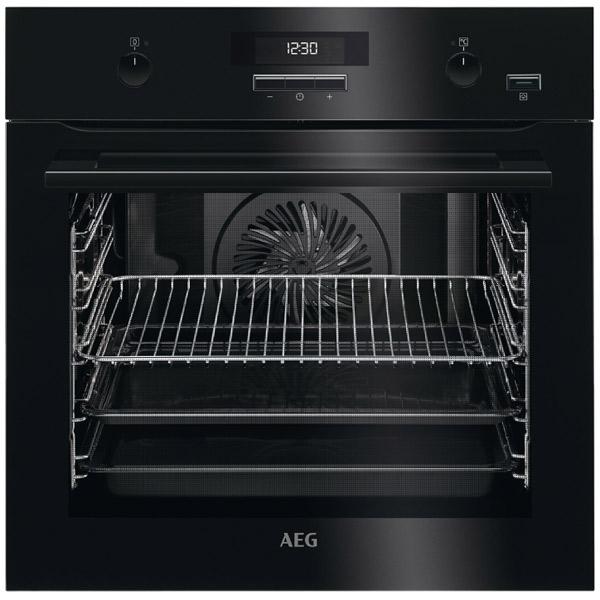 Электрический духовой шкаф AEG BER451110B вентилятор напольный aeg vl 5569 s lb 80 вт