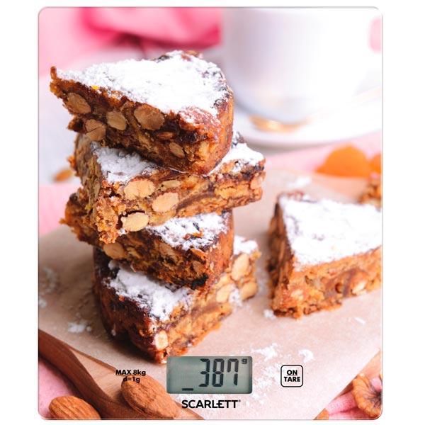 Весы кухонные Scarlett SC - KS57P32 scarlett sc ks57p32 peanut cookies весы кухонные