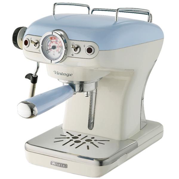 Кофеварка рожкового типа Ariete 1389 Vintage Blue