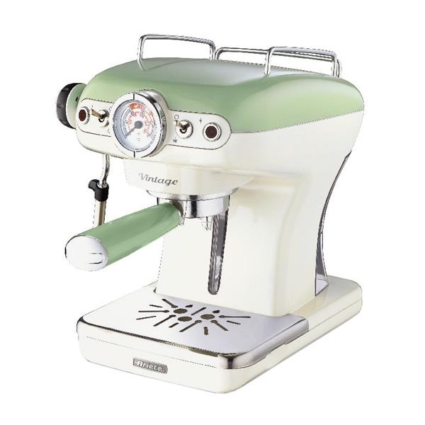 Кофеварка рожкового типа Ariete 1389 Vintage Green