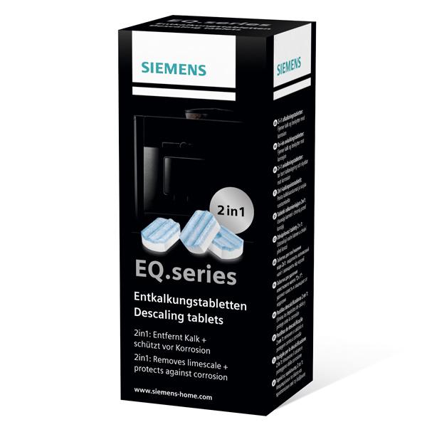 Чистящее средство для кофемашины Siemens таблетки для удаления накипи (TZ80002) чистящее средство для кофемашины siemens таблетки для удаления накипи tz80002