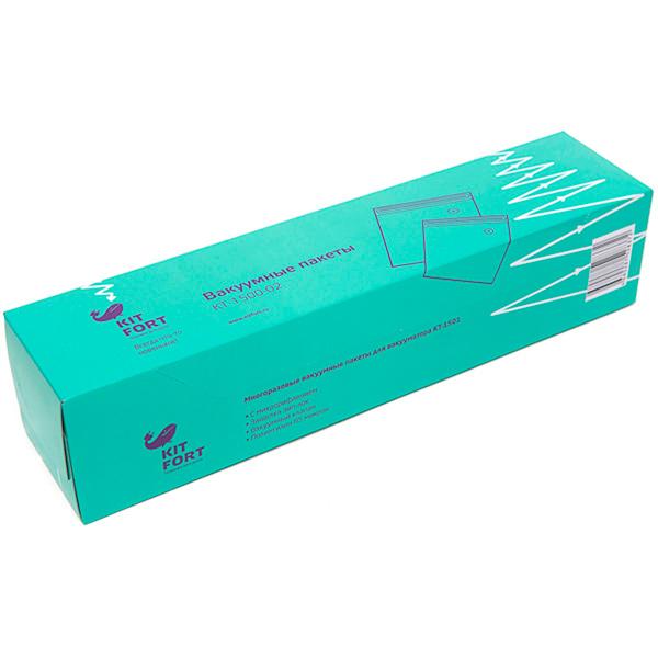 Пакет для вакуумного упаковщика Kitfort КТ-1500-02 пароочиститель kitfort кт 909