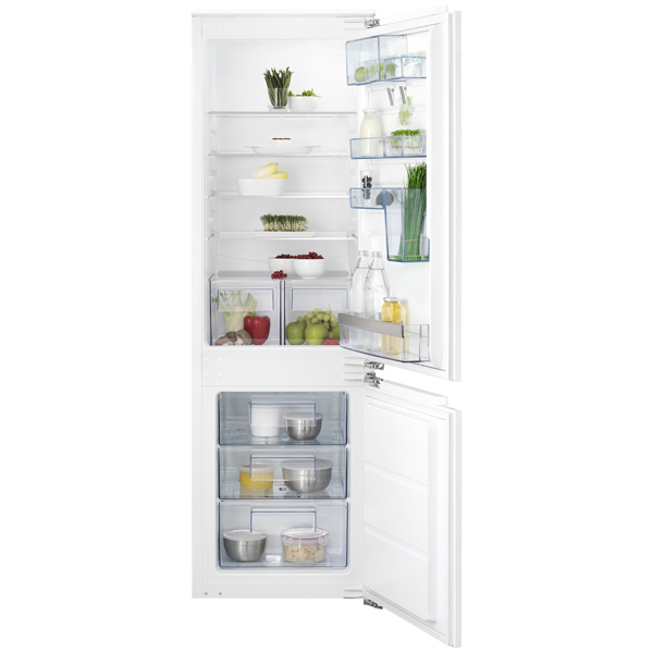 Встраиваемый холодильник комби AEG SCS61800FF штроборез aeg mfe 1500