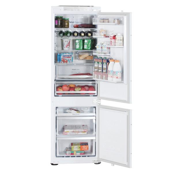 Встраиваемый холодильник комби Samsung BRB260087WW холодильник samsung rs4000 с двухконтурной системой twin cooling 569 л