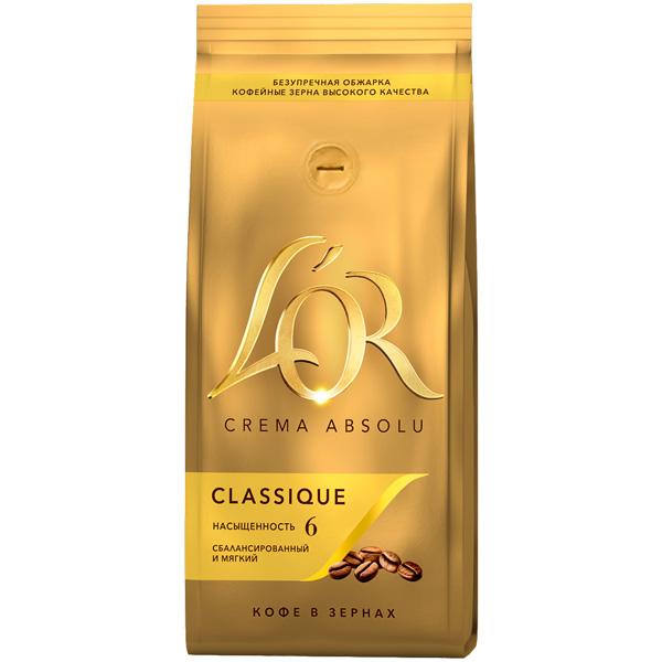 Кофе в зернах L\'Or Crema Absolu Classique 230 г