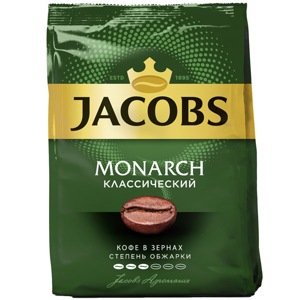 Кофе в зернах Jacobs Monarch классический 430 г