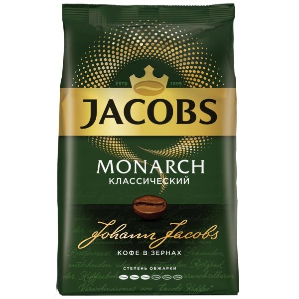 Кофе в зернах Jacobs Monarch классический 800 г