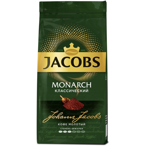 Кофе молотый Jacobs Monarch классический 230 г.