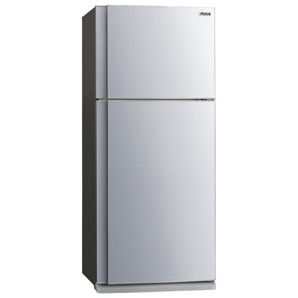 Холодильник с верхней морозильной камерой широкий Mitsubishi Electric MR-FR62K-ST-R двери металлические входные в алмате