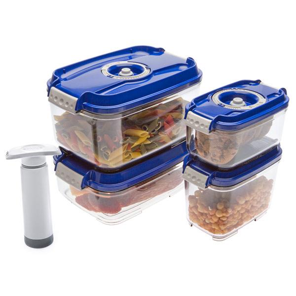 Контейнер для вакуумного упаковщика Status VAC-REC-Smaller Blue купить биксеноновые линзы 9 го поколения