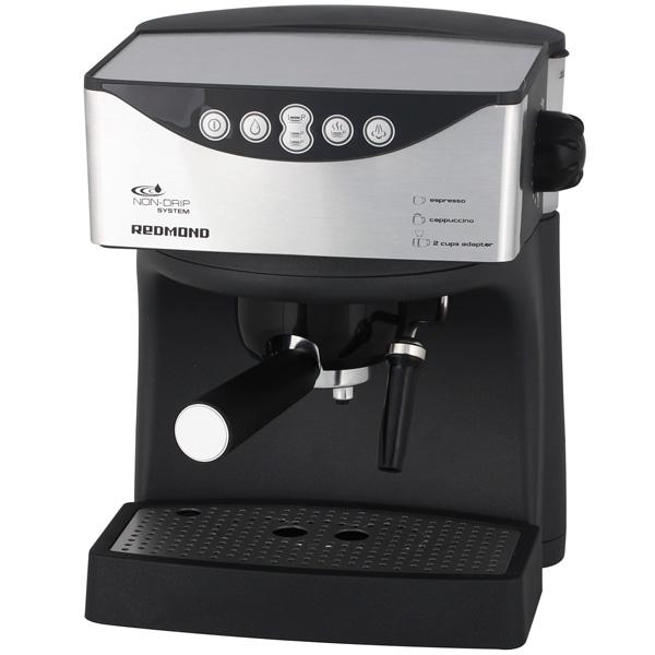 Кофеварка рожкового типа Redmond RСM-1503 кофеварка redmond rcm 1508s 550вт 0 6л