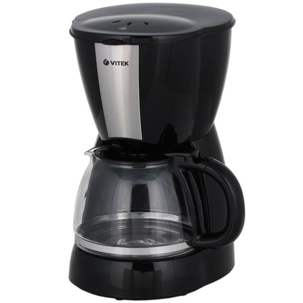 Кофеварка капельного типа VITEK VT-1503 кофеварка vitek vt 1503 bk 900 вт черный