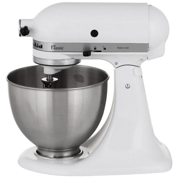 Кухонная машина KitchenAid 5K45SSEWH кухонная машина kitchenaid 5ksm3311xeht