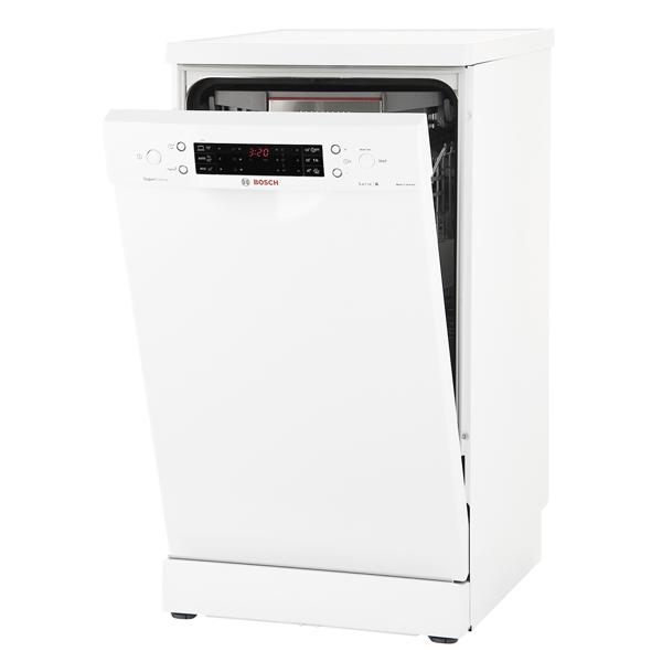 Bosch, Посудомоечная машина (45 см), SuperSilence SPS66XW11R
