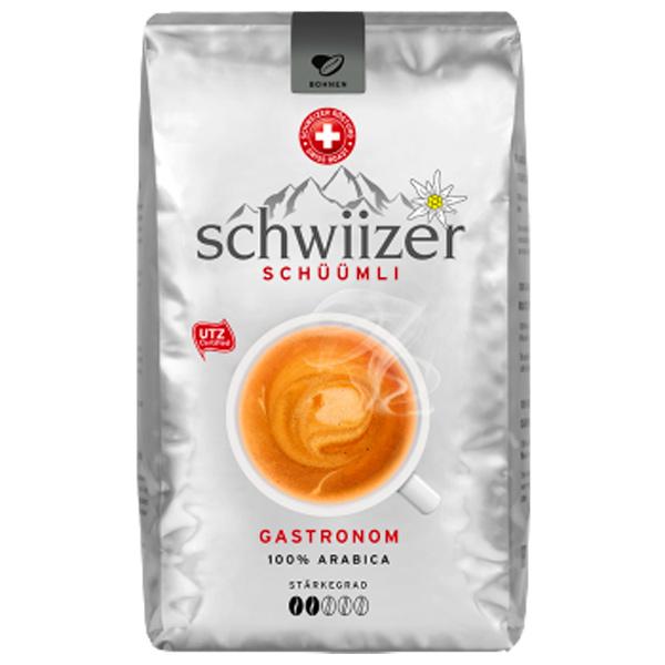 Кофе в зернах Schwiizer Gastronom 1000 г кофе parenti кофе в зернах