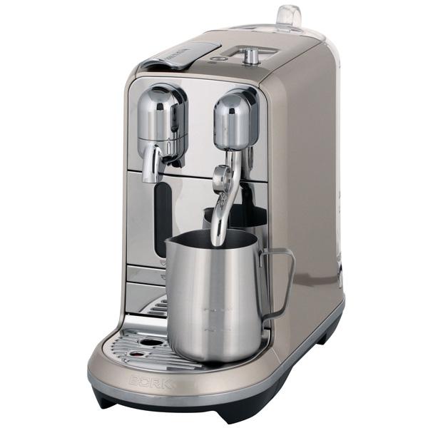 Кофемашина капсульного типа Nespresso Bork Creatista C730 шампань кофемашина капсульного типа nespresso bork c532 citiz chrome