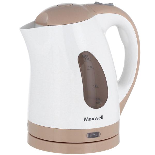Электрочайник Maxwell MW-1014 BN выпрямитель maxwell mw 2211 bn