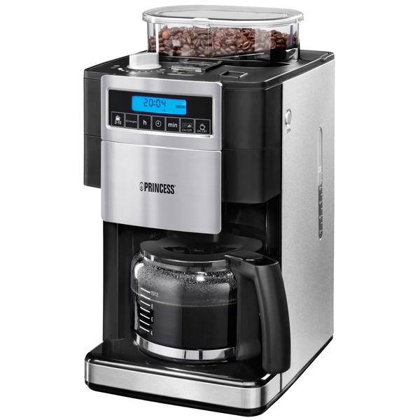 Кофеварка капельного типа Princess 249402 кофеварка нерж 670мл 6100 23 991470