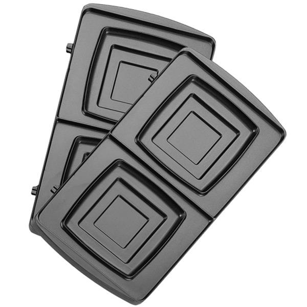 Сменные панели для мультипекаря Redmond RAMB-04 (квадрат) сменные панели для мультипекаря redmond ramb 02 венские вафли