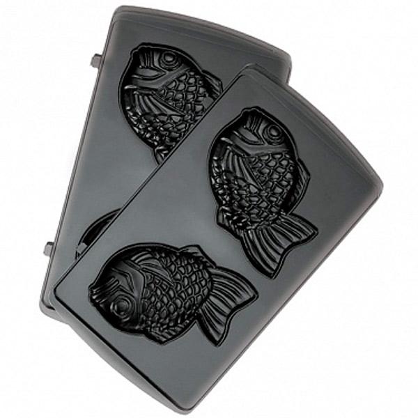 Сменные панели для мультипекаря Redmond RAMB-06 (рыбка) сменные панели для мультипекаря redmond ramb 02 венские вафли