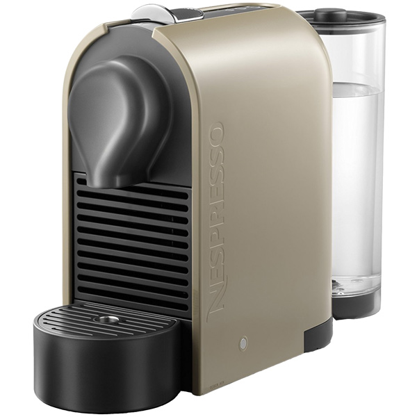 Кофемашина капсульного типа Nespresso Nespresso U Pure Cream C50 кофемашина капсульного типа nespresso bork c532 citiz chrome