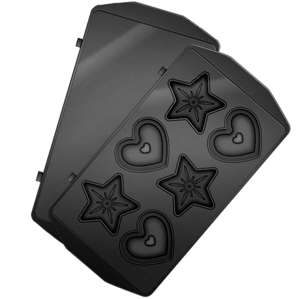 Сменные панели для мультипекаря Redmond RAMB-24 (сердечки и звездочки)