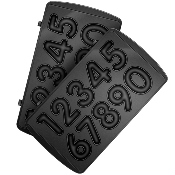 Сменные панели для мультипекаря Redmond RAMB-28 (цифры) сменные панели для мультипекаря redmond ramb 02 венские вафли