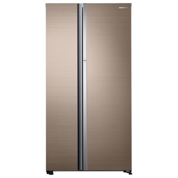 Холодильник (Side-by-Side) Samsung RH62K60177P холодильник side by side samsung rs552nrua1j