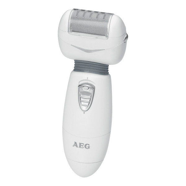 Прибор для ухода за ногами AEG PHE 5670 weis-grau пемза для ног galaxy gl4921 с двумя насадками для бережного ухода за ступнями ног в комплекте с пр