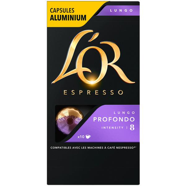 Кофе в капсулах L\'Or Espresso Lungo Profondo 10х5,2г
