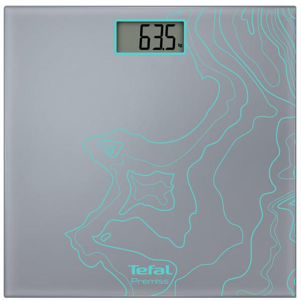 Весы напольные Tefal Premiss Maps PP1075V0 весы напольные tefal pp1070 premiss flower white