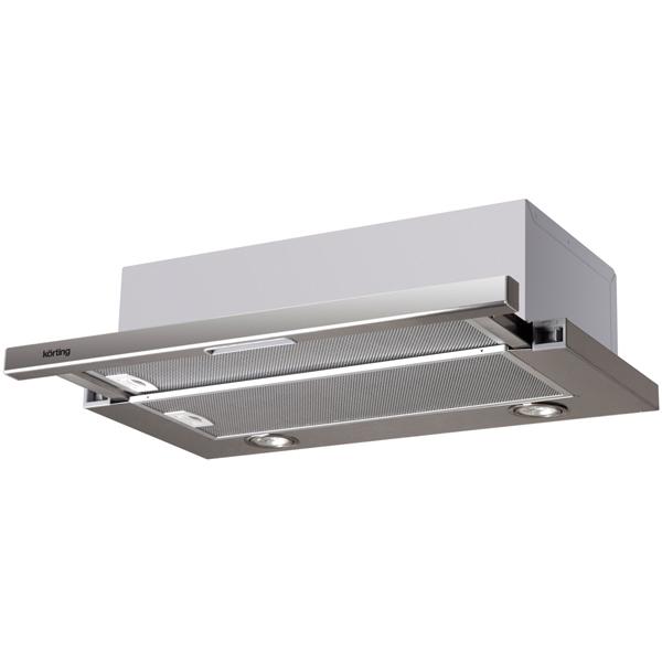 Вытяжка встраиваемая в шкаф 60 см Korting KHP 6313 X вытяжка korting khp 6313 n