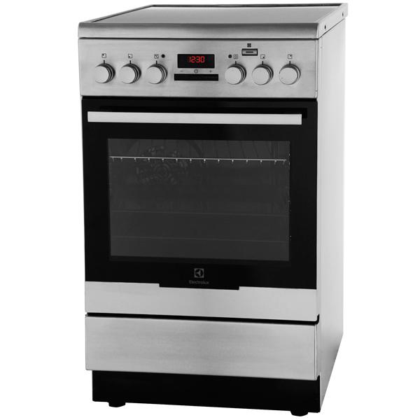 Электрическая плита (50-55 см) Electrolux EKC954907X electrolux ehs 60160 x